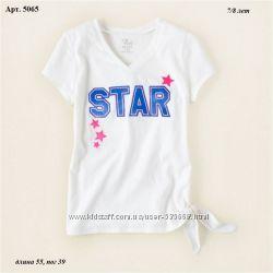 Яркие красивые футболки CHILDRENS PLACE  7-8  лет