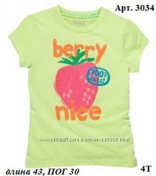 Яркие красивые футболки на 4 года CHILDRENS PLACE, CRAZY8, OSHKOSH