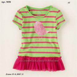 Яркие футболки Childrens Place  4, 5-6, 7-8, 10-12  лет