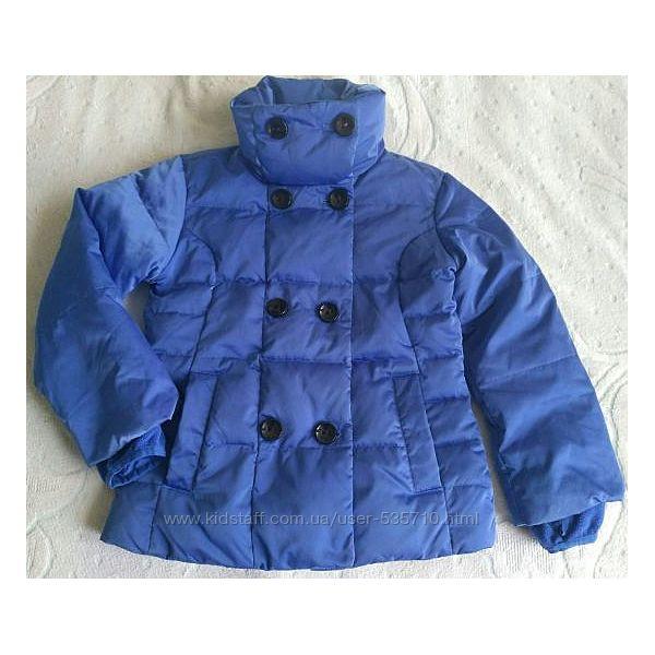 Пуховик, зимняя куртка Lands&acuteend Америка, р. 6-7лет, лыжные штаны в по