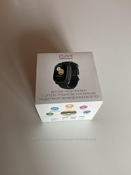 Elari KidPhone 2 Детские часы смартчасы с GPS Tracking