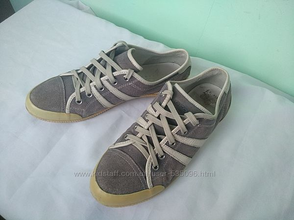 Кроссовки-мокасины-туфли р.38 Geox женские кожаные дышащие