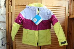 Зимняя куртка на девочку columbia, размер 45
