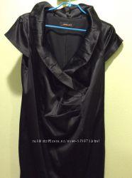 Шикарное атласное платье 50-54 размер