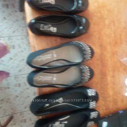 Кож. туфли Туфли текс тильные разные