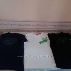 Фирменные   мужские футболки