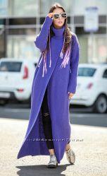 Оригинальное пальто-кардиган на девушку