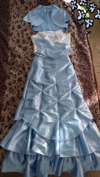 нарядное платье на выпуск или выступление