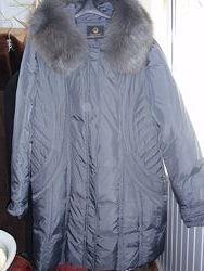 Пальто пуховое пуховик