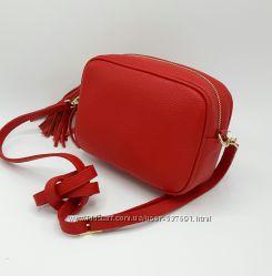 Под заказ. Женские сумочки кроссбоди. Натуральная кожа. Италия
