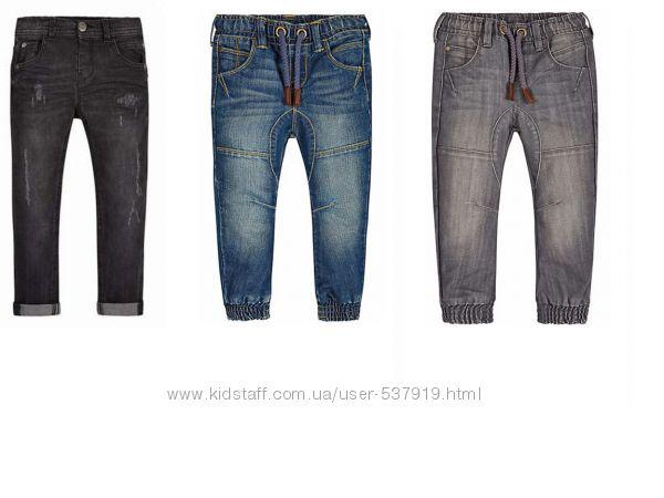 Джинсы, штаны для мальчика Mothercare р-ры 3, 4, 5, 6, 7 лет