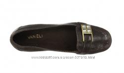 Кожаные туфли Vaneli, Италия 22 cм