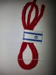 Красная нить Каббалы на запястье, оберег от зла и болезней.