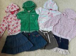 Толстовки, худи, кофты, кенгурушки для девочки 4-7 лет