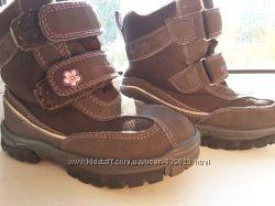 Зимние термо ботинки Tchibo для девочки двойной размер