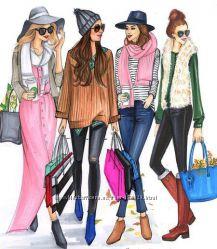Модные покупки во Франции. 50-90 Sale.