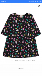 Рождественское платье George 5-6 лет