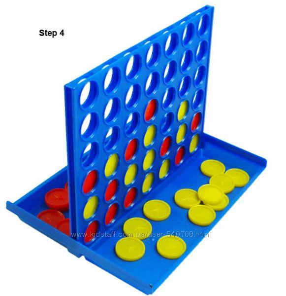Настольная игра 4 в ряд Bingo Пятнашки