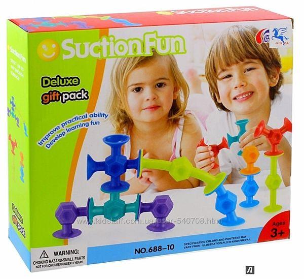 Конструкторы на присосках SuctionFun и Sibelly