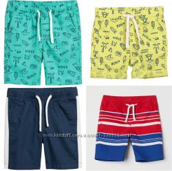 Новые стильные хлопковые шорты чиносы H&M, Америка.