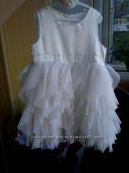 Нарядное белое платье Early Days 6-9