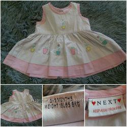 Платье Next 3-6