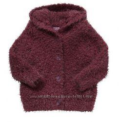 Теплая кофта для девочки F&F Tesco