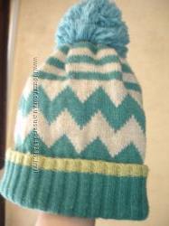 Очень красивая, осенняя шапочка Next. Размер 48-52.