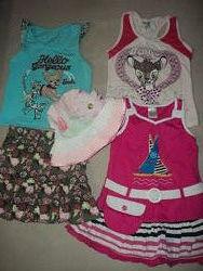 Одежда летняя для девочки