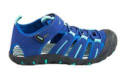 Летние трекинговые босоножки с закрытым носком р 30-35 Pidlidi синие