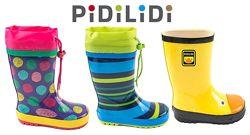 Супер Резиновые сапожки для ваших деток 22-35р. Чешской ТМ Pidilidi