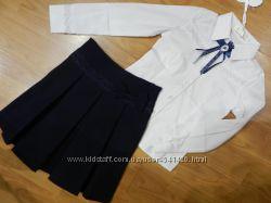 Школьные блузки и юбки на девочек. Размеры 128-152