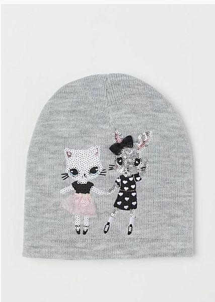 Демисезонные шапочки девочкам и мальчикам H&M, СА