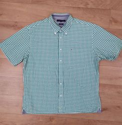 Отличная мужская рубашка Tommy Hilfiger, рр. XL укр 52-54-56