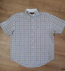Отличная мужская рубашка Tommy Hilfiger, рр. L укр 50-52-54