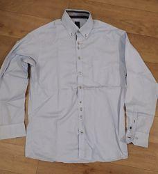 Отличная мужская рубашка Pure by Hatico Германия. разм L укр 50-52