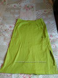 Летняя юбка миди, большой размер