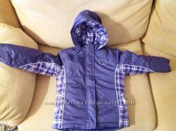 Продам курточку на девочку фирмы FADED GLORY три в одном на 5 лет