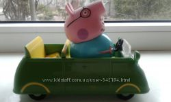 Машинка оригинал пеппа папа свин