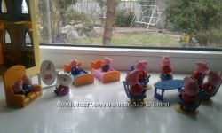 Фигурки Peppa Pig пеппа джорж мебель