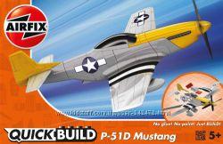 Истребитель Mustang P-51D Lego сборка