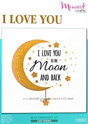 Набор для вышивания Люблю тебя до Луны и обратно