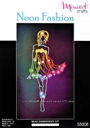 Набор для вышивания Неоновая Мода