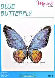 Набор для вышивания Голубая бабочка