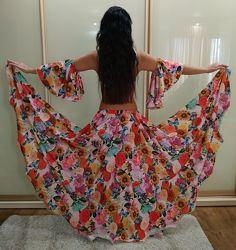 Продаю бу юбку для танцев на фьюжн