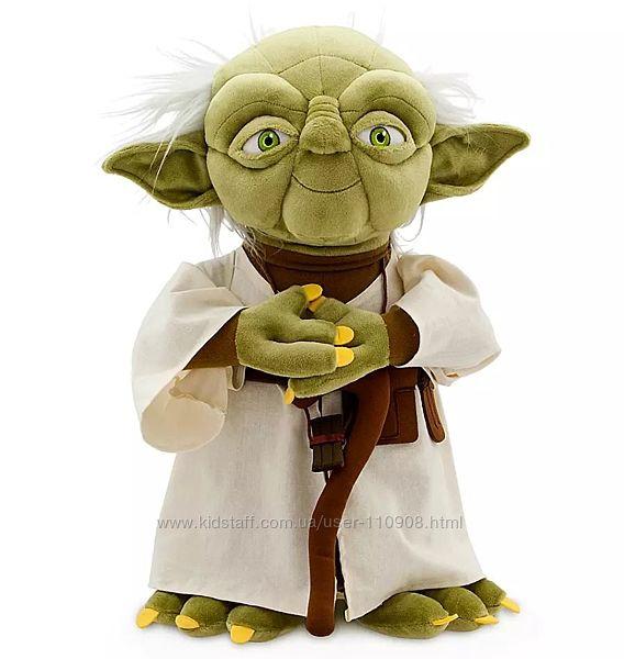 Мягкая игрушка Магистр Йода Звездные войны Дисней.