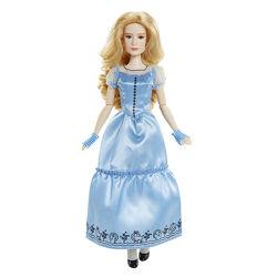 кукла Алиса в стране чудес в голубом платье