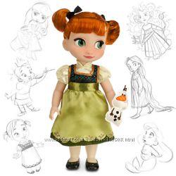 Малышка Анна Аниматор Frozen Anna Collection Doll Disney Animators