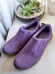 Новые замшевые ботинки Landsend