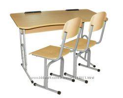 Парта и стулья ученические